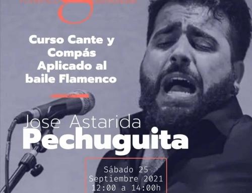 Cours de Cante Flamenco et Compass avec Jose «le busty»